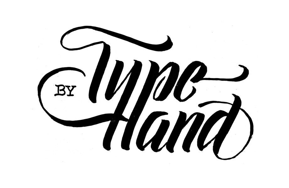 Type by Hand logo, handlettering workshops by Australian Type Foundry